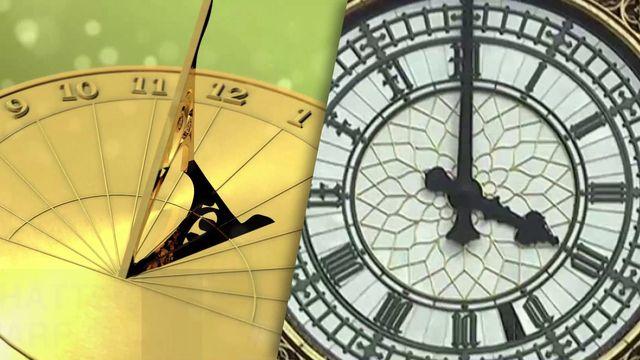 Warum drehen sich die Zeiger der Uhr immer nach rechts?