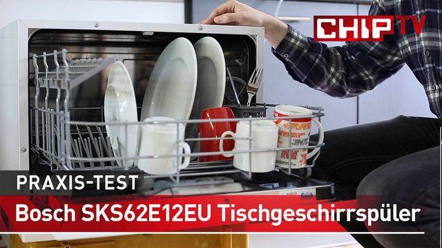 Bosch SKS62E12EU Tischgeschirrspüler - Praxis-Test