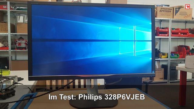 Philips 328P6VJEB: Eindrücke aus dem Testlabor