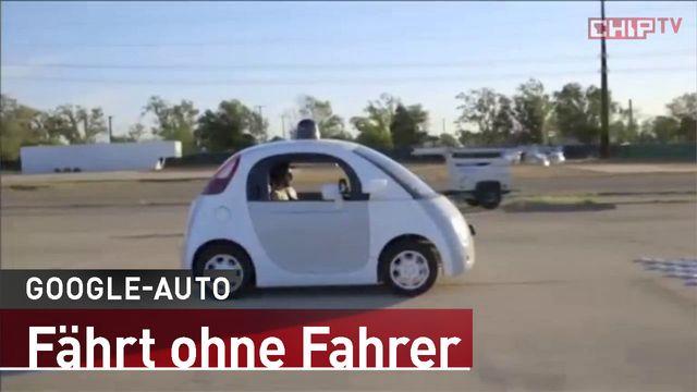 Google-Auto: Fährt ohne Fahrer