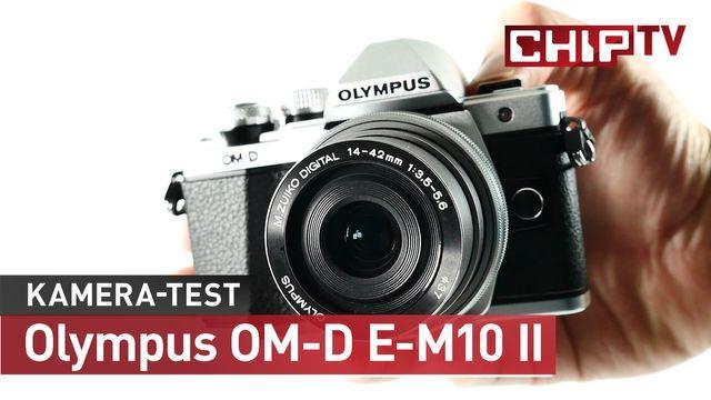Kleine, starke Kamera für hippe Fotografen: Olympus OM-D E-M10 II
