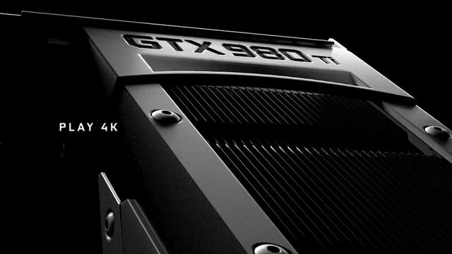 Nvidia presents: GeForce GTX 980 Ti