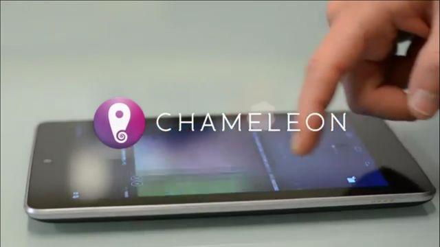 Chameleon Launcher for Tablets