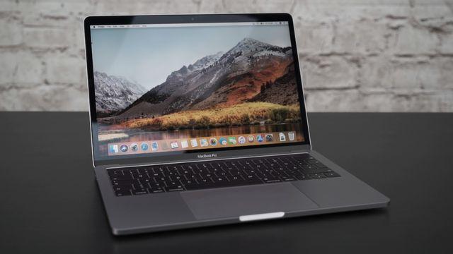 Das MacBook Pro 13 (2018) im Review
