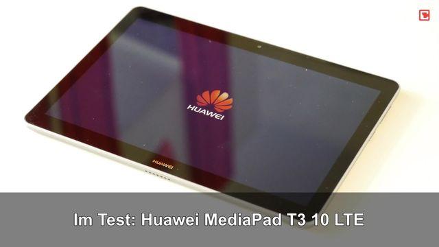 Im Test: Huawei MediaPad T3 10 LTE
