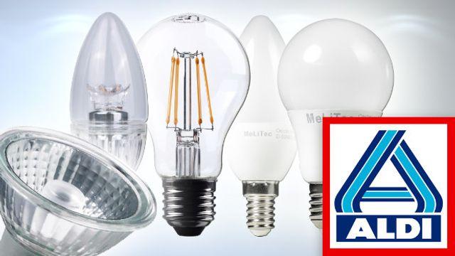 Aldi Nord: LED-Lampen KW4 im Check