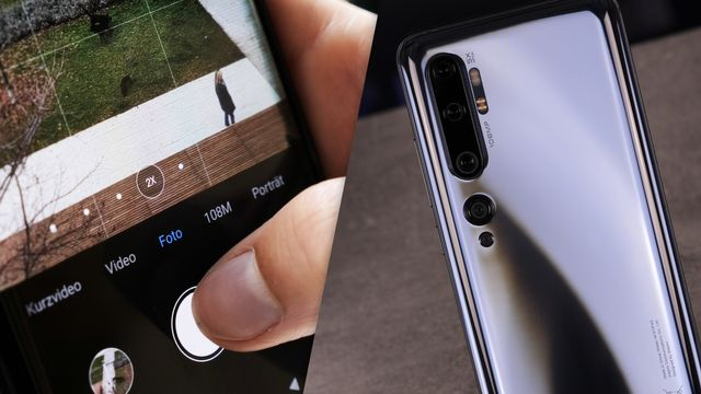 Xiaomi Mi Note 10 im Test: Handy mit 108-MP-Kamera