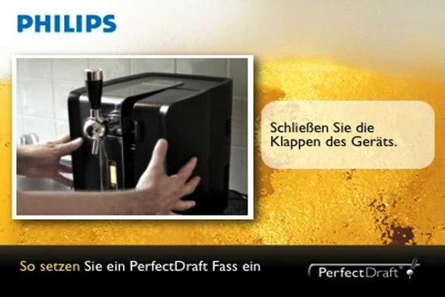 Philips präsentiert: Perfect Draft Bierzapfanlage