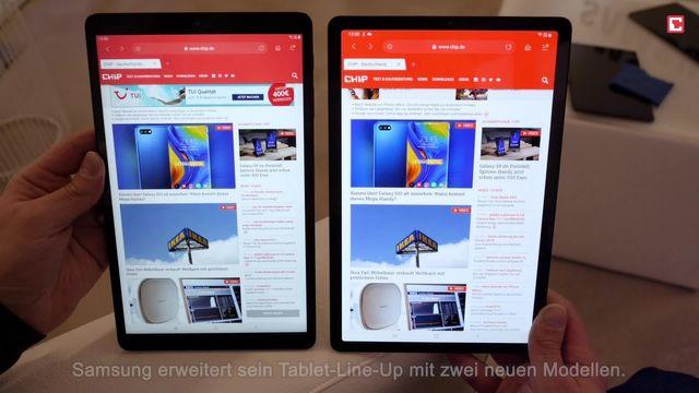 Samsung Galaxy Tab S5e und Tab A im Hands-On