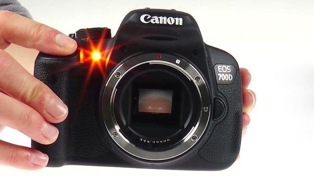 Canon EOS 700D - Test