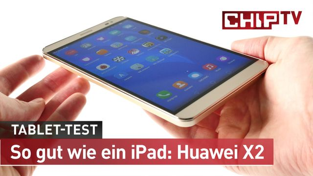 So gut wie ein iPad: Huaweis Tablet-Kracher Mediapad X2