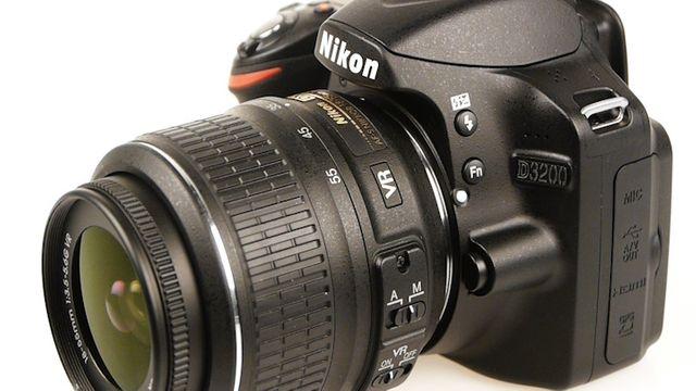 Nikon D3200 - Test