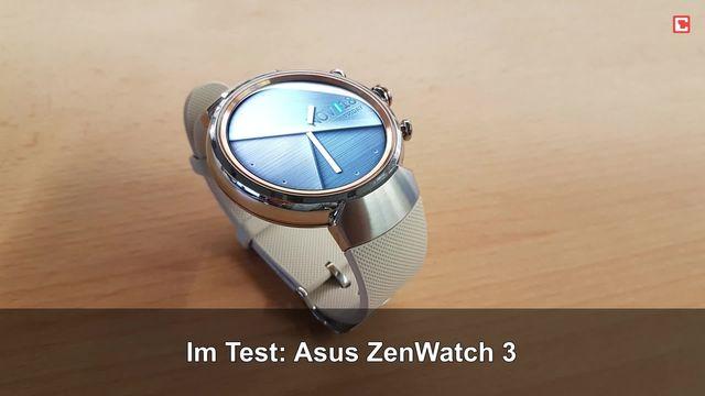 Asus ZenWatch 3: Eindrücke aus dem Testlabor