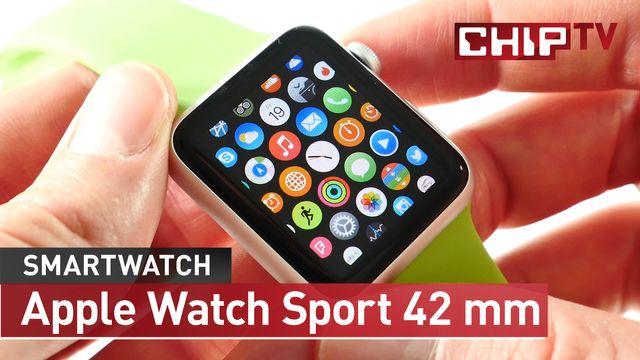 Apple Watch Sport 42mm  - Smartwatch - Review