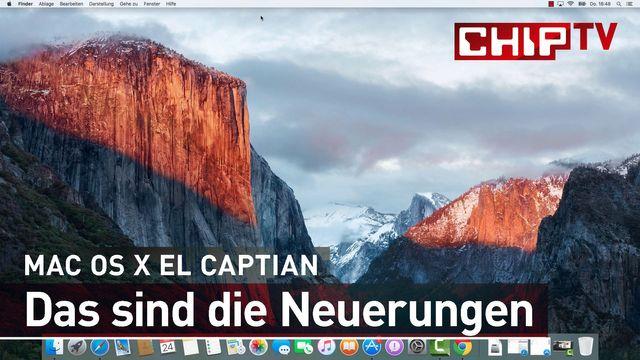 Mac OS X: El Capitan - Das sind die Neuerungen