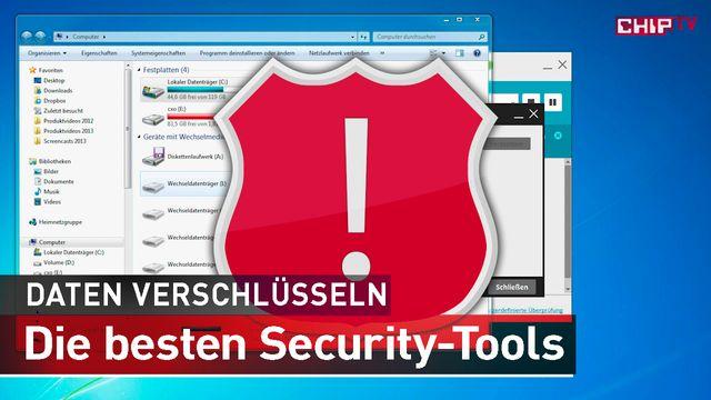 Daten verschlüsseln - Security-Tools - kostenlos