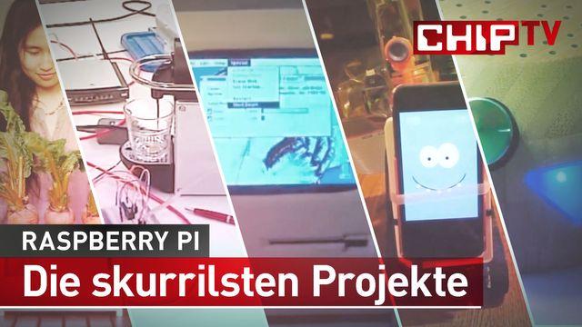 Raspberry Pi - Die skurrilsten Projekte