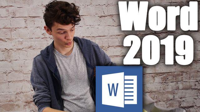 Word 2019 - die neuen Features im Check