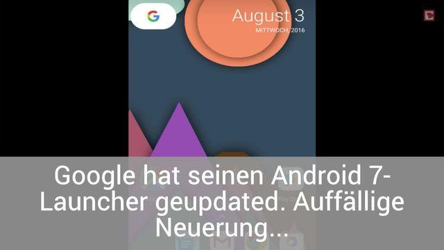 Android 7-Launcher: So sieht die neue App-Drawer-Funktion aus
