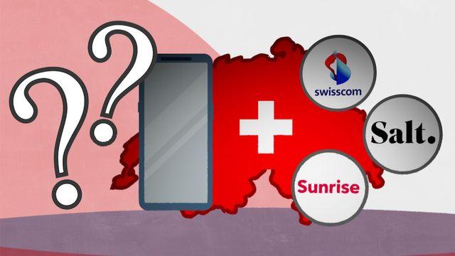 Chip-Netztest Schweiz: Das beste Handynetz 2021