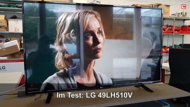 LG 49LH510V: Eindrücke aus dem Testlabor