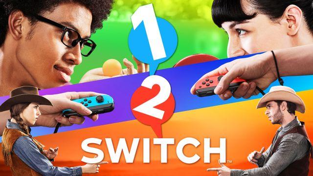 Nintendo präsentiert: 1-2-Switch für Nintendo Switch
