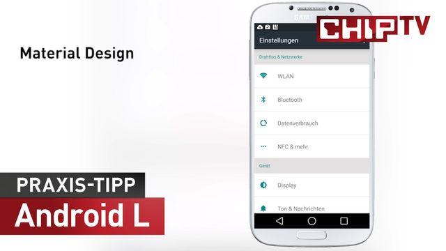 Android 5 Lollipop - Das größte Update aller Zeiten