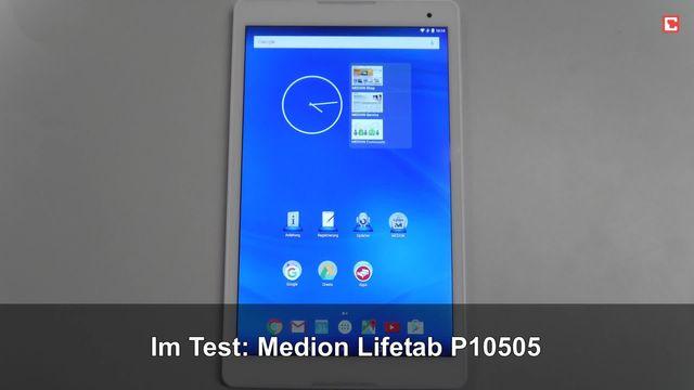 Im Test: Medion Lifetab P10505