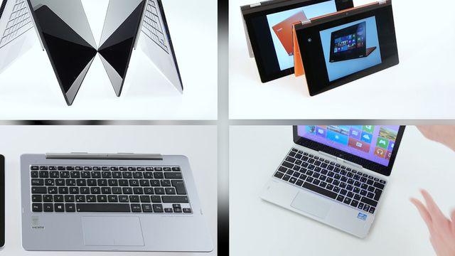 Convertible Notebook - Vergleich der besten Konzepte