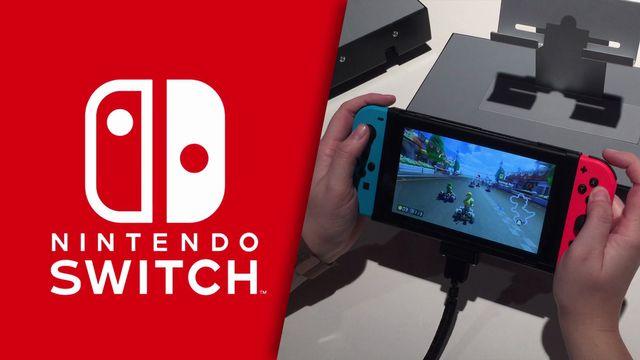 Nintendo Switch im HandsOn