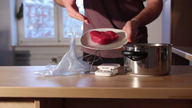 Zart wie beim Gastronomen: Sous-Vide-Steak selbst zubereiten