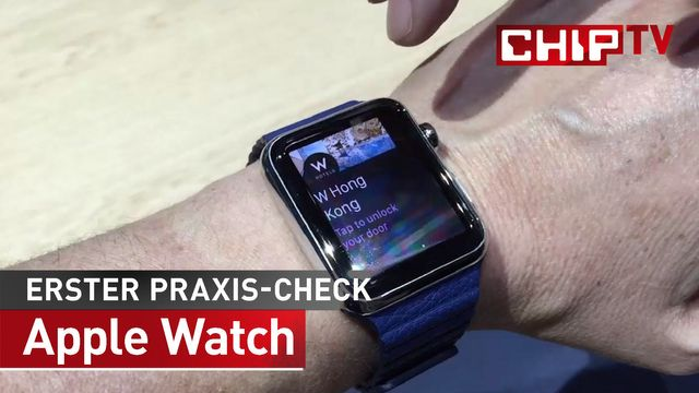 Apple Watch - Features & Release - Erster Praxis-Check