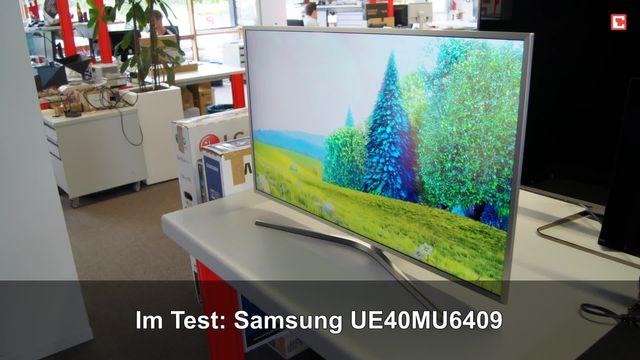Samsung UE40MU6409: Eindrücke aus dem Testlabor