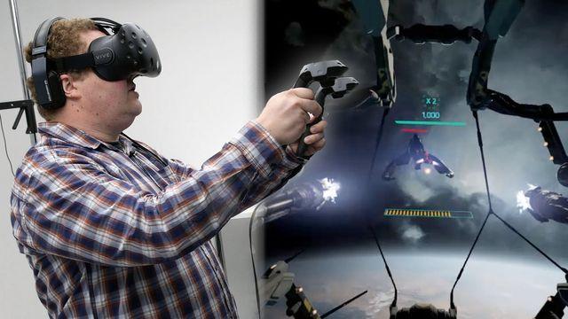 HTC Vive: Virtual Reality Brille im Praxistest