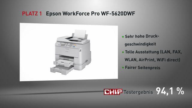 Das sind die besten drei Multifunktionsdrucker