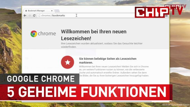 Google Chrome: 5 geheime Funktionen