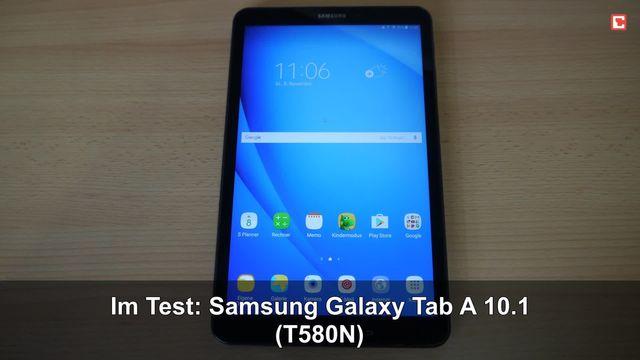 Im Test: Samsung Galaxy Tab A 10.1 (2016) T580N