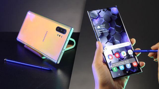 Samsung Galaxy Note 10 Plus im Test