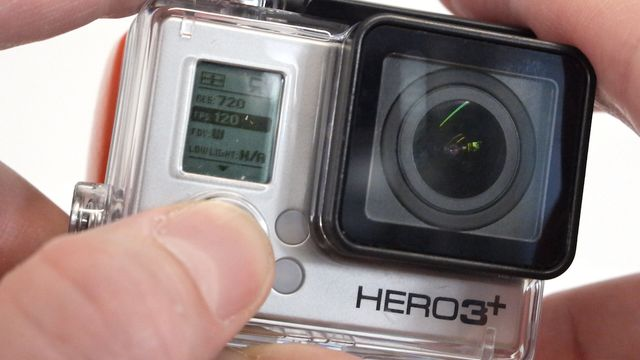 GoPro Hero 3+ Black - Praxis-Test