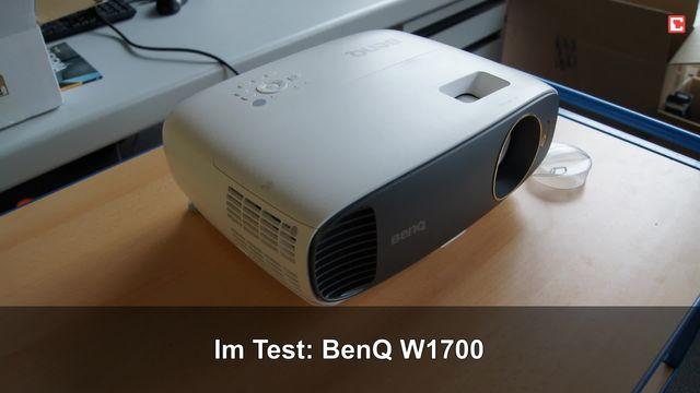 BenQ W1700: Eindrücke aus dem Testlabor