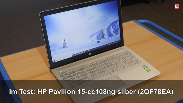 HP Pavilion 15-cc108ng silber (2QF78EA#ABD)