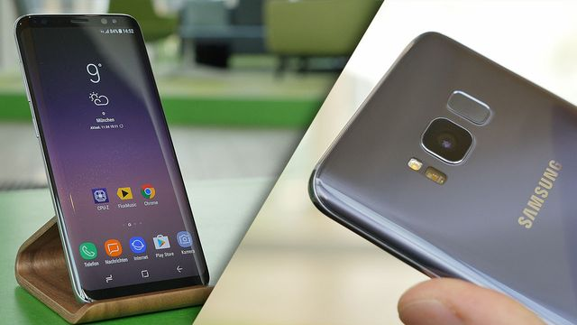Samsung Galaxy S8 im Review