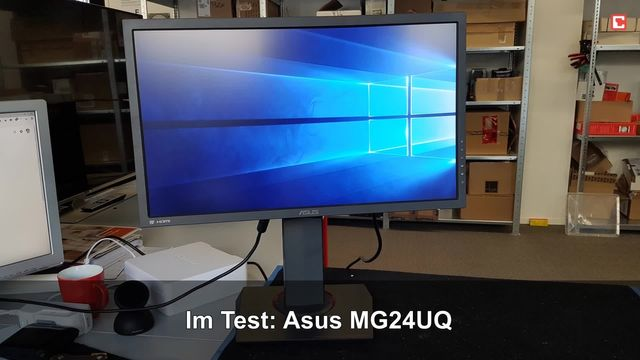 Asus MG24UQ: Eindrücke aus dem Testlabor