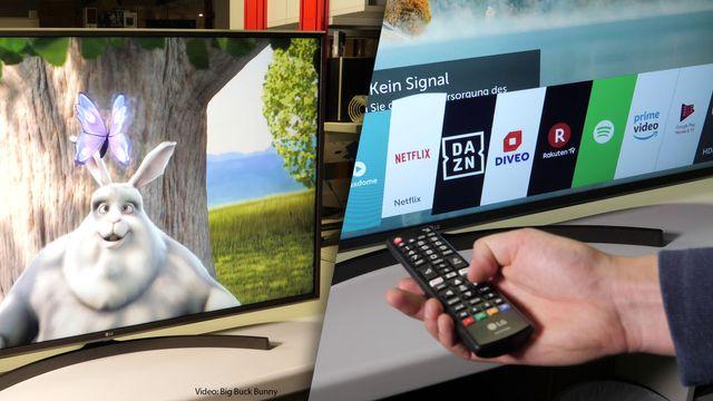 LG Fernseher 55UK6400PLF im Review