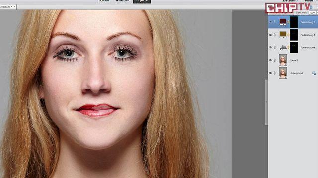 Digital Make Up mit Photoshop - Tutorial