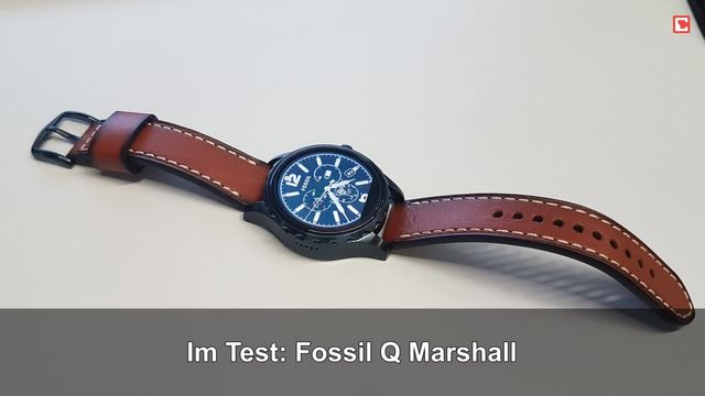 Fossil Q Marshall: Eindrücke aus dem Testlabor