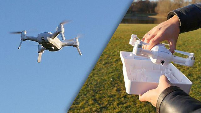 Selfie-Drohne Yuneec Breeze 4K im Test