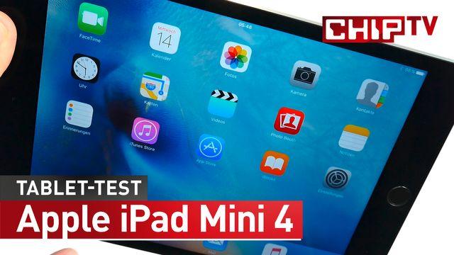 Chip-Check: Apple iPad Mini 4 im Test