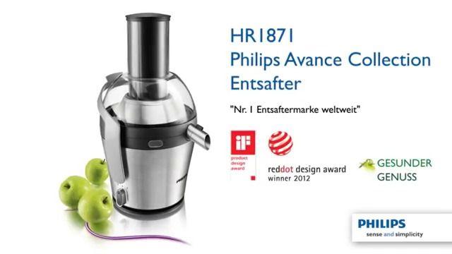 Philips presents: HR1871