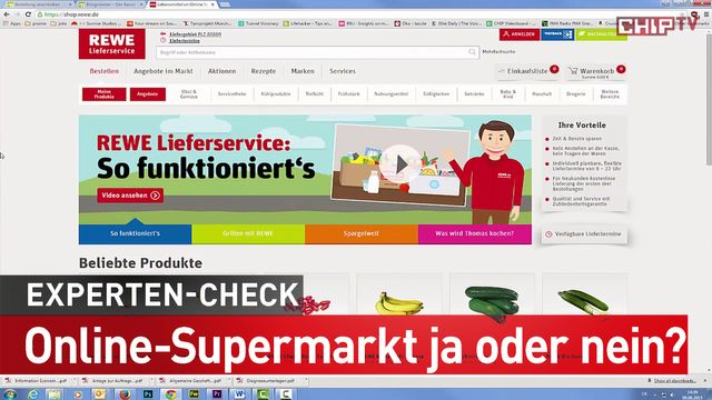 Einkaufen im Online-Supermarkt: Für wen macht das Sinn?